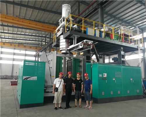 5000-10000 l 1-6 layer blow molding machine